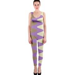 Nougat Ripple Onepiece Catsuit