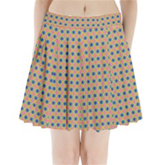 Strange Fruit Pleated Mini Skirt