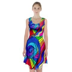 Centripetal - Racerback Midi Dress