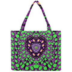 Dots And Very Hearty Mini Tote Bag