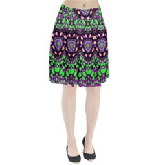 Dots And Very Hearty Pleated Skirt