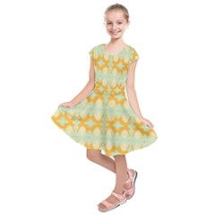 Sun Burst Kids  Short Sleeve Dress