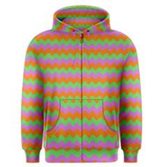 Tropical Dream State Men s Zipper Hoodie