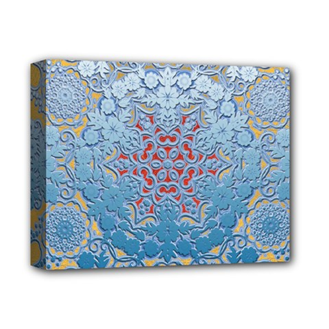 Pattern Background Pattern Tile Deluxe Canvas 14  x 11