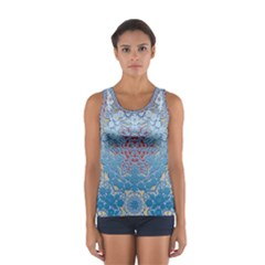 Pattern Background Pattern Tile Women s Sport Tank Top