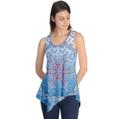 Pattern Background Pattern Tile Sleeveless Tunic