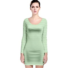 Fibonaci Long Sleeve Bodycon Dress