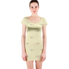Winner Short Sleeve Bodycon Dress