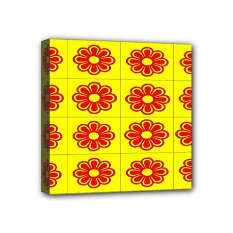Pattern Design Graphics Colorful Mini Canvas 4  X 4