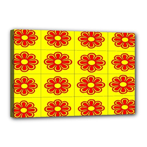 Pattern Design Graphics Colorful Canvas 18  X 12
