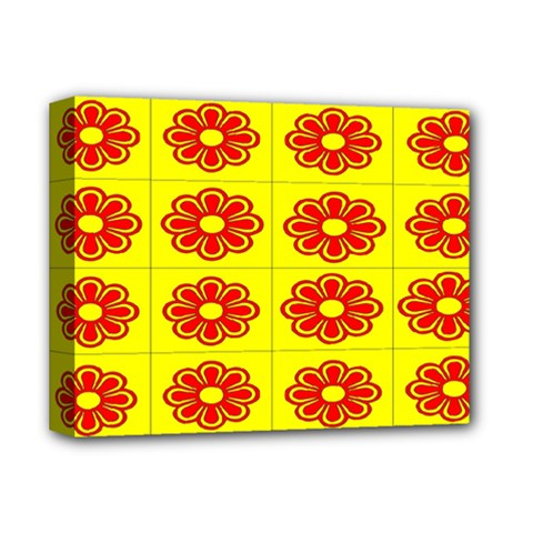 Pattern Design Graphics Colorful Deluxe Canvas 14  X 11