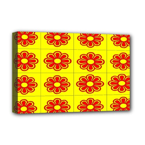 Pattern Design Graphics Colorful Deluxe Canvas 18  x 12