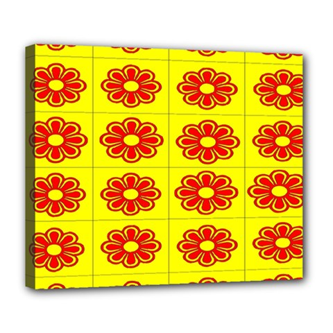 Pattern Design Graphics Colorful Deluxe Canvas 24  x 20