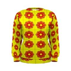 Pattern Design Graphics Colorful Women s Sweatshirt