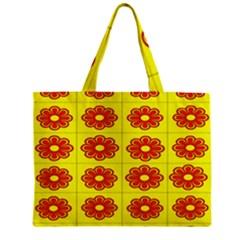 Pattern Design Graphics Colorful Zipper Mini Tote Bag