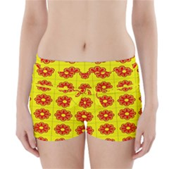 Pattern Design Graphics Colorful Boyleg Bikini Wrap Bottoms
