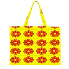Pattern Design Graphics Colorful Large Tote Bag