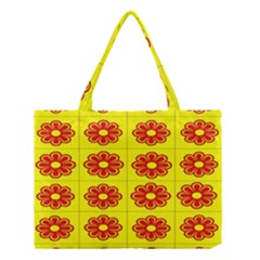 Pattern Design Graphics Colorful Medium Tote Bag