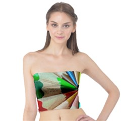 Pen Crayon Color Sharp Red Yellow Tube Top
