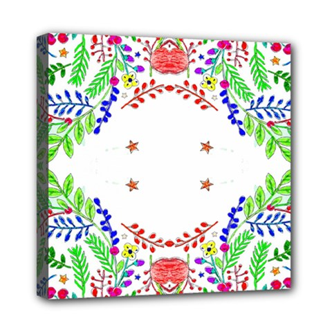 Holiday Festive Background With Space For Writing Mini Canvas 8  x 8
