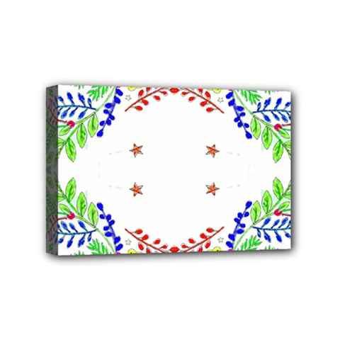 Holiday Festive Background With Space For Writing Mini Canvas 6  x 4