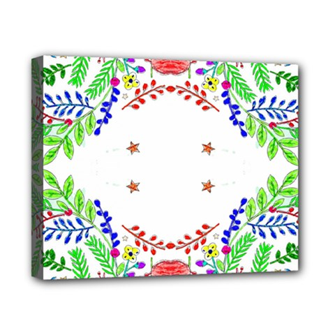 Holiday Festive Background With Space For Writing Canvas 10  X 8