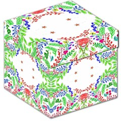 Holiday Festive Background With Space For Writing Storage Stool 12