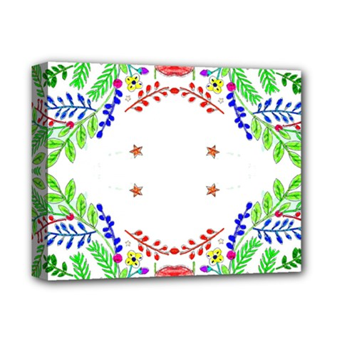 Holiday Festive Background With Space For Writing Deluxe Canvas 14  x 11