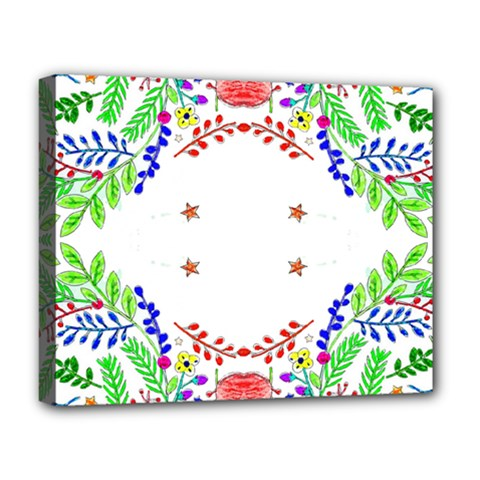 Holiday Festive Background With Space For Writing Deluxe Canvas 20  X 16