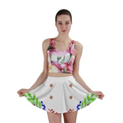 Holiday Festive Background With Space For Writing Mini Skirt
