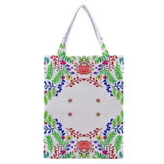 Holiday Festive Background With Space For Writing Classic Tote Bag