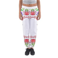 Holiday Festive Background With Space For Writing Women s Jogger Sweatpants