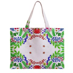 Holiday Festive Background With Space For Writing Zipper Mini Tote Bag