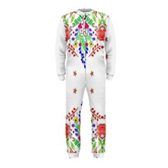 Holiday Festive Background With Space For Writing OnePiece Jumpsuit (Kids)