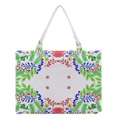 Holiday Festive Background With Space For Writing Medium Tote Bag