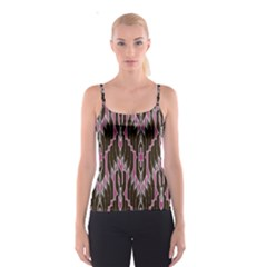 Pearly Pattern Spaghetti Strap Top