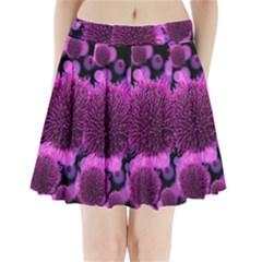 Hintergrund Tapete Keime Viren Pleated Mini Skirt