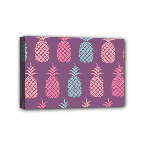 Pineapple Pattern  Mini Canvas 6  X 4