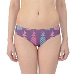 Pineapple Pattern  Hipster Bikini Bottoms