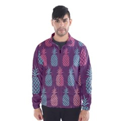 Pineapple Pattern  Wind Breaker (men)