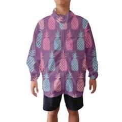 Pineapple Pattern  Wind Breaker (Kids)
