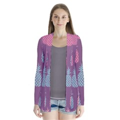 Pineapple Pattern  Cardigans