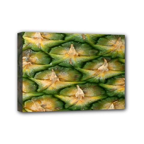 Pineapple Pattern Mini Canvas 7  x 5