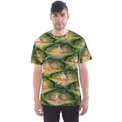 Pineapple Pattern Men s Sport Mesh Tee