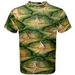 Pineapple Pattern Men s Cotton Tee