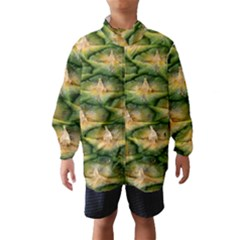Pineapple Pattern Wind Breaker (kids)