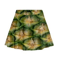 Pineapple Pattern Mini Flare Skirt