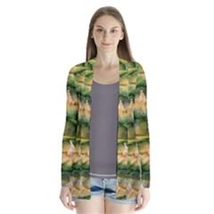 Pineapple Pattern Cardigans