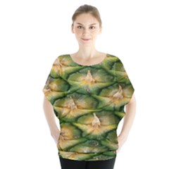 Pineapple Pattern Blouse