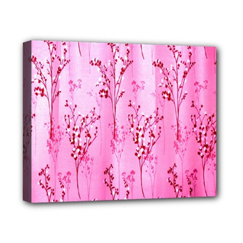 Pink Curtains Background Canvas 10  X 8